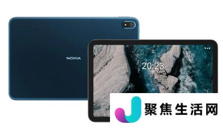 诺基亚 T20拥有10.4 英寸 2K 显示屏与4G LTE